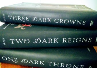 Image result for three dark crowns series box set